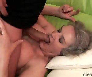 Böse alte Huren harten Sex-Compilation