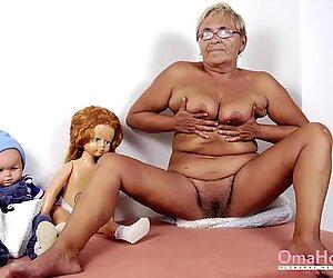 Omahotel-kuvaesitys isoäidien kanssa imee ja vittu