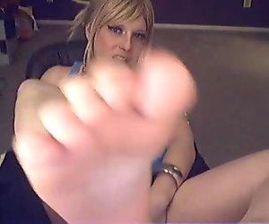 TS Mallory Feet
