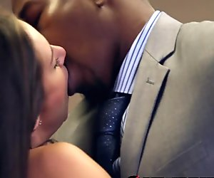 White Girl Fucked by Boss and his BBC