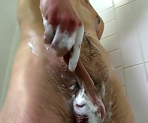 Hot Bodied Straight Guy Aaron Masturbating