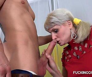 Busty Sarah Star loves her boss
