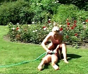 Hot wife beats her husband mistress