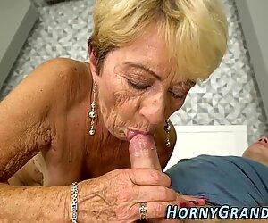 Vanha nainen saa kiskot