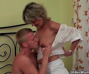 Mom is here to help you blow your load