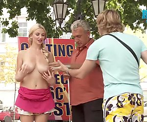 Flashing Perfect Pale Titties