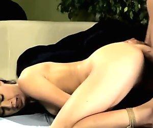 Hard BDSM, vaginal, anal sex with Tiffany Doll