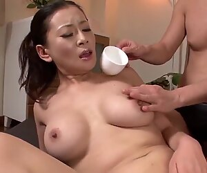 Rei Kitajima gets toy fucked - More at Japanesemamas.com
