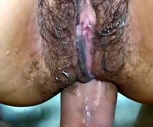 Amateur hairy milf anal fucking intense orgasm