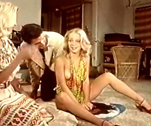 Seka Ken Yontz Tina Louise in vintageporn group sex with bj and lesbian action