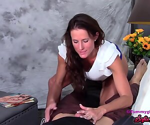 SofieMarieXXX - Stunning Stepmom Sofie Marie Blows Cock