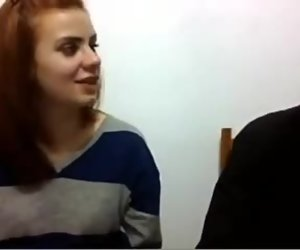 French 2 teens amazed by my fat cock