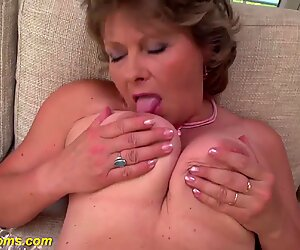 grandmas first sexy porn video filmed