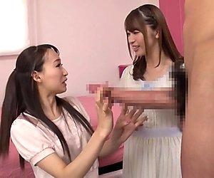 Kurea Hasumi & Saki Hatsumi in Kurea And Saki Take On Japans Biggest Cock - EritoAvStars