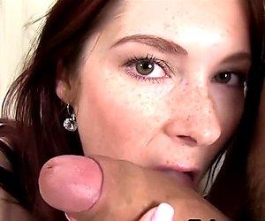 Weliketosuck freckled redhead sucks and fucks