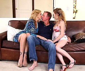 Julia Ann Angel Smalls Sexy Threesome