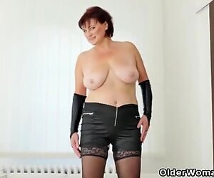 At 56 that pussy of Danja still has a fair amount of mileage left