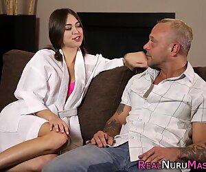 Kinky wam masseuse banged