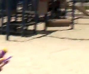 Policeman's teen daughter fucks biggest white cock!
