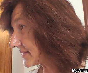 Elle trouve la vieille mère en droit raconte la file d'attente de son homme