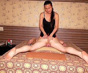 Ladyboy Tong Gives Guy Dirty Massage