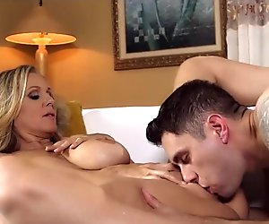 Big Tit Blonde Mom in Heat