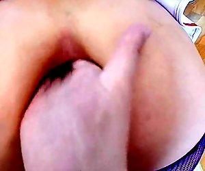 DeNata ass hole penetration