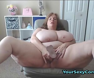 BBW Granny Has The Biggest Natural Saggy Tits In USA