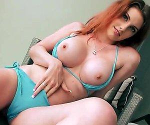 Big boobs gf Rainia Belle anal try out
