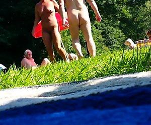 Piilokamera alaston ranta