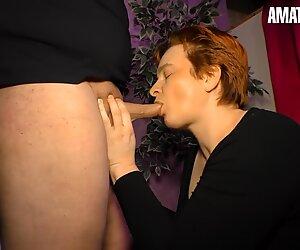 XXX Omas - Chubby Granny Gets Her Sloppy Pussy Fucked - AmateurEuro