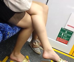 Bare Candid Legs - BCL#076