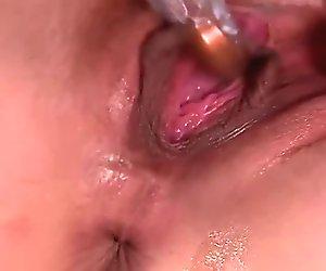 Portia Harlow Masturbates Until She's Dripping Wet