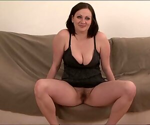 Chubby brunette hairy pussy black cock fucking