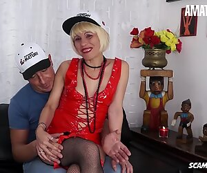 AmateurEuro - Mature Italian Slut Fucks like a Teen - ANAL