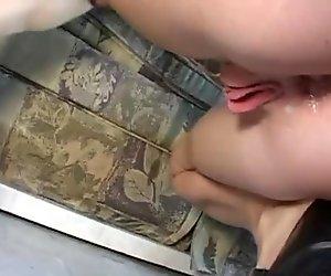 redhead in extreme bangvan anal DP