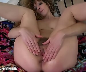 Leona frigs her furry fuckbox to climax for you