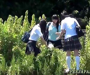 Asian teens goldenshower