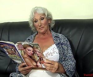 Tuhma dollarin isoäiti pornografian heitto