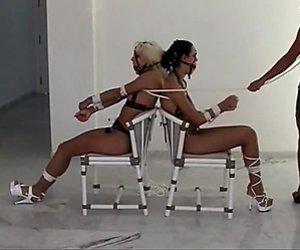 Fetish-Concept.com - Spezial Bondage mit 2 heissen Girls
