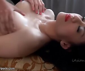 She loves masturbating
