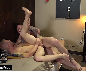 Raw Lock Up Part 1 Scene 1 featuring Jordan Levine and Leo Luckett - Trailer preview - BROMO
