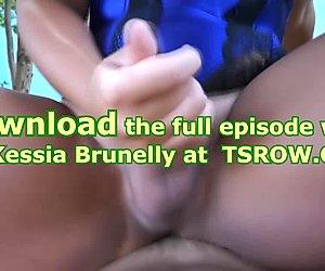 Tranny Kessia Brunelly Fucked Bareback