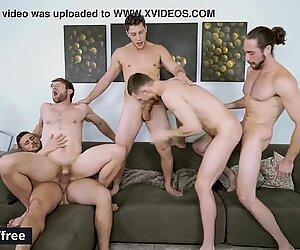 Men.com - (Colby Keller, Jacob Peterson, Paul Canon, Roman Cage, Trevor Long) - My Whore Of A Roommate - Jizz Orgy